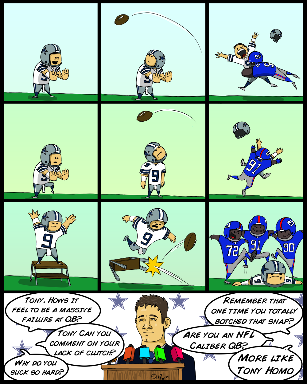 Tony Romo is actually a great QB