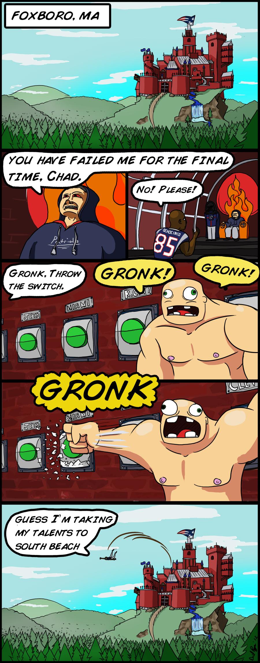 GRONK GRONK