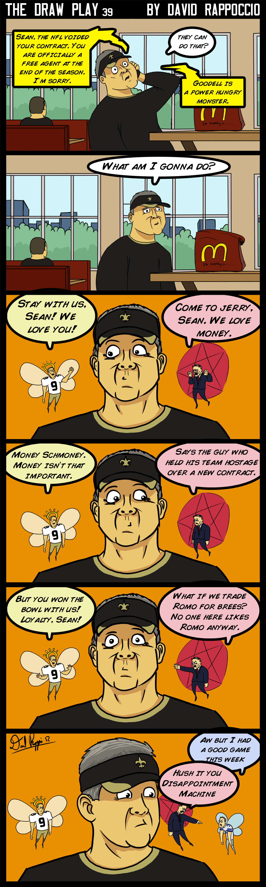 "I should rename this comic to ""Sean Payton Comix"""