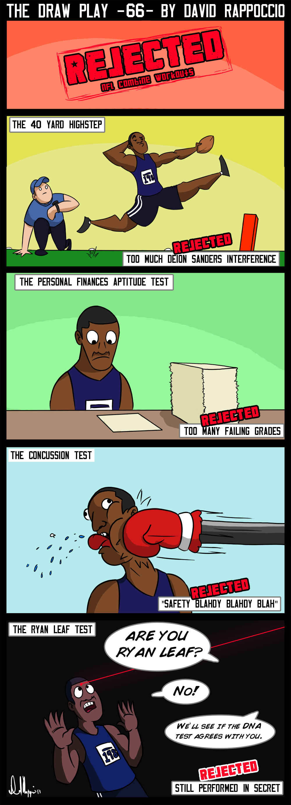 Rejected jokes for this comic: The Driving test, the Cookoff, the Waterboarding