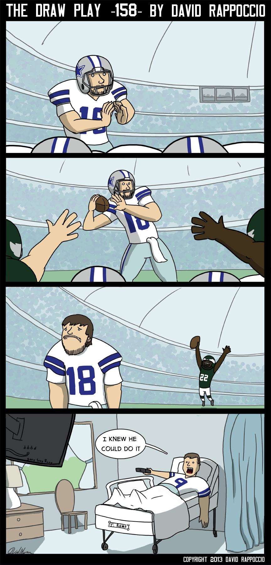 WAY TO FAIL ROMO! oh wait