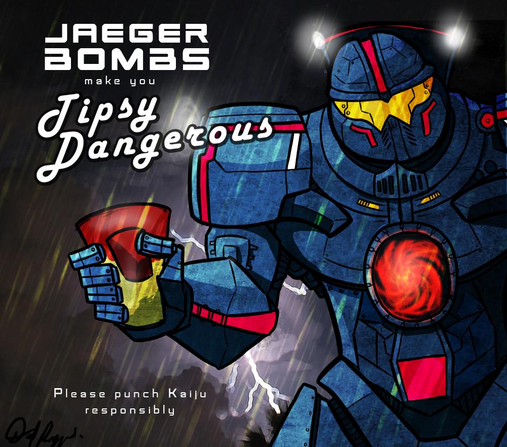 Jaegerbombs