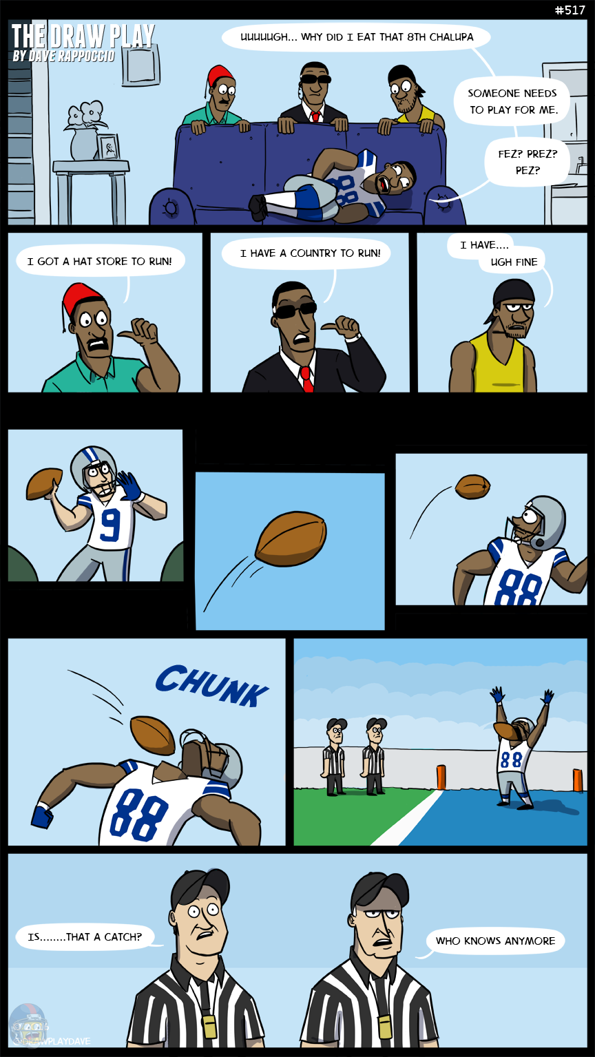 Dez Bryant Week 3 Dez Eats Taco Bell The Draw Play