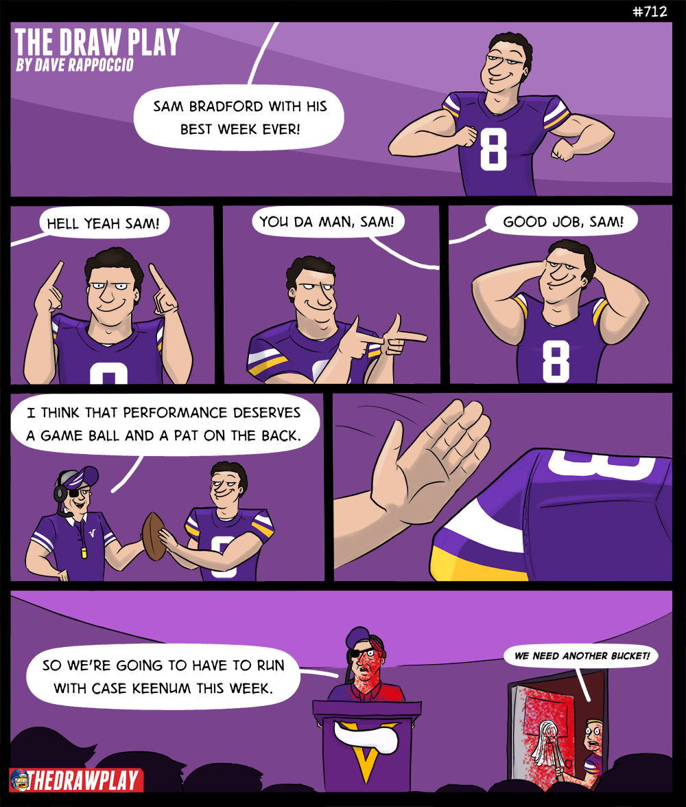 Sam Bradford turns into a pink mist comic #2