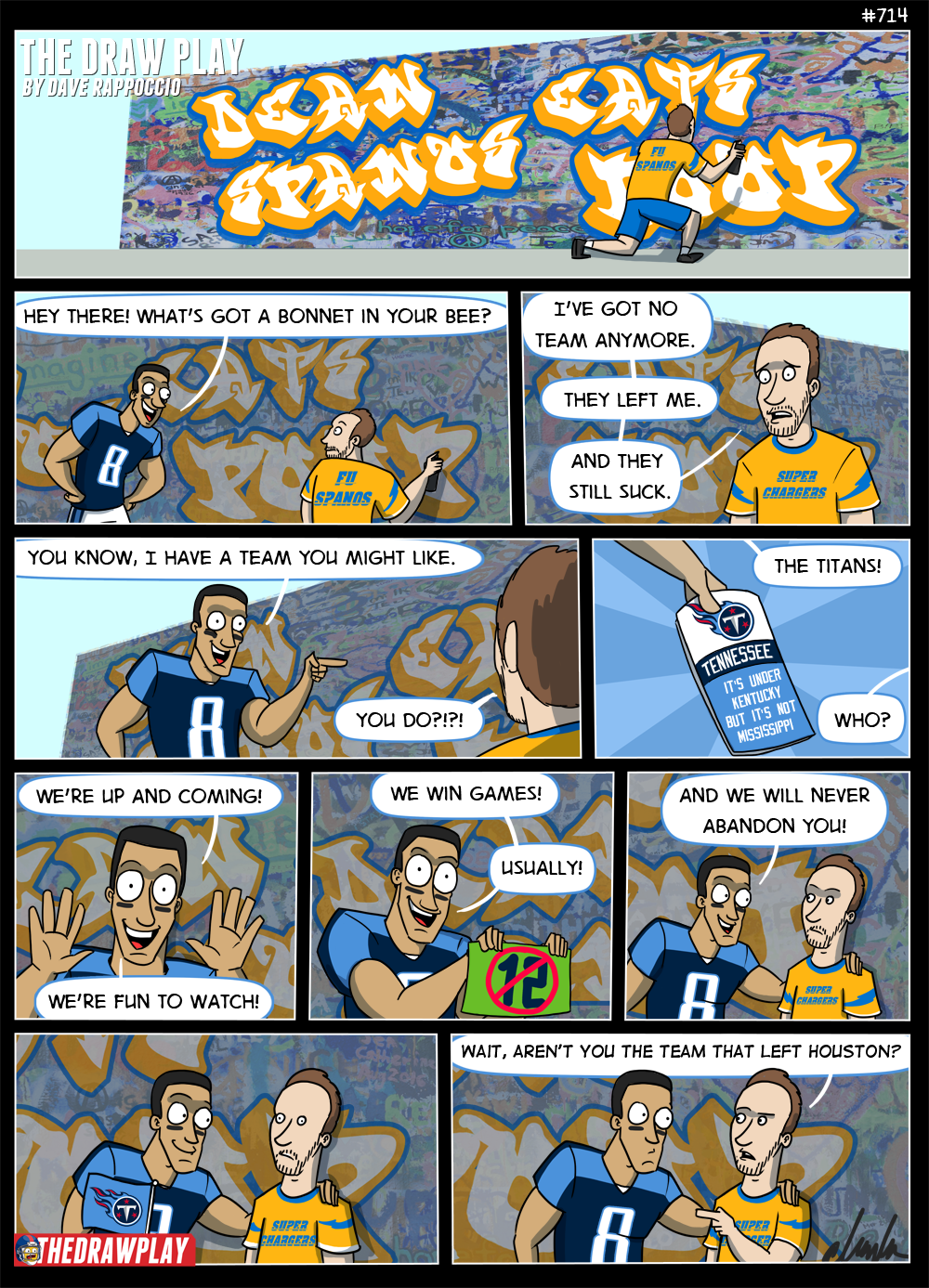 Dean Spanos would eat the poop than move it to a new toilet that already had poop and didn't want Dean's poop, and then Dean would complain that no one wants his poop this metaphor really got away from me