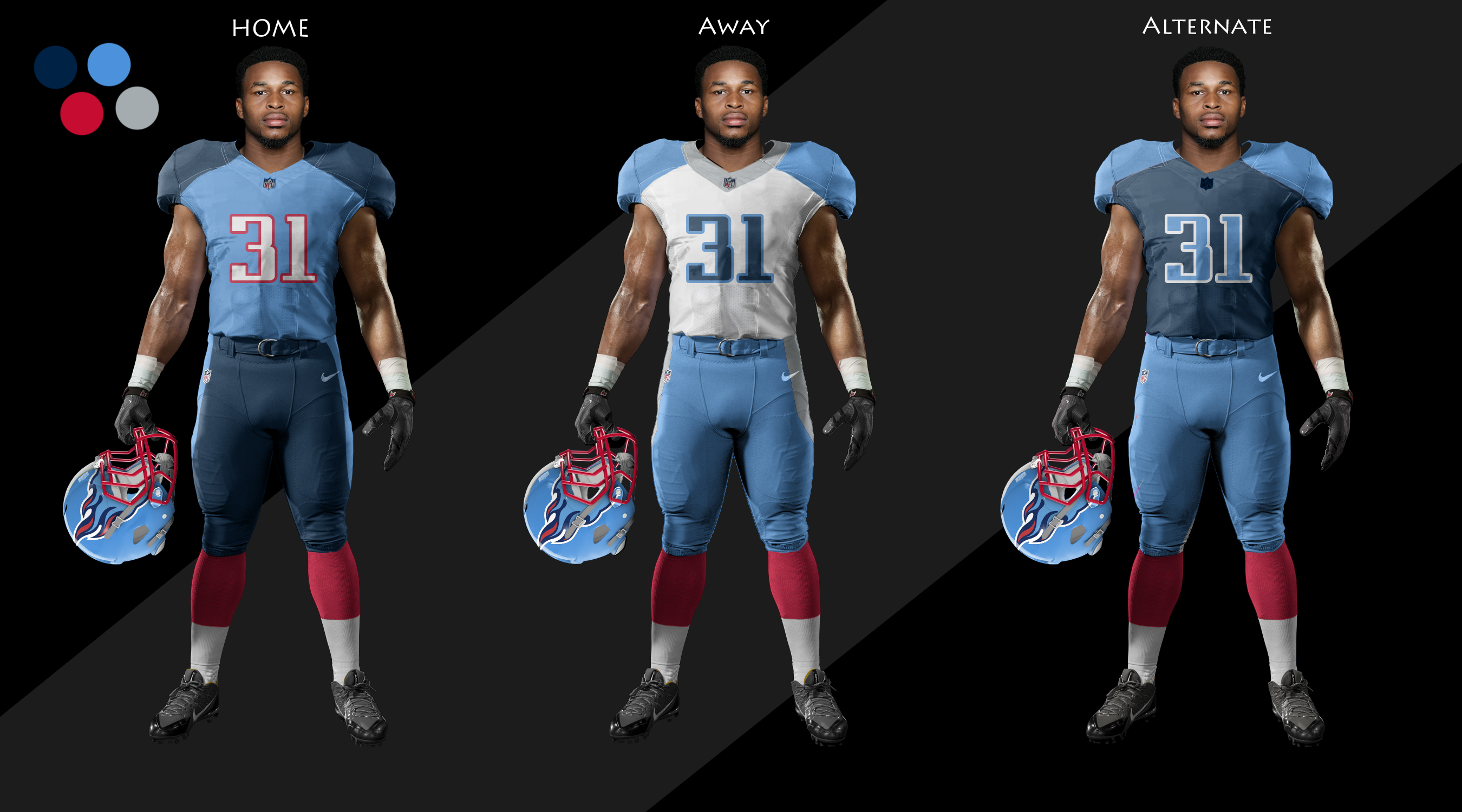 b4fb6fa58 I call this one the basic. I like heavy shoulder pads. I changed up the  main uniform to be primary light blue